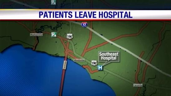 Patients Begin To Leave Southeast Hospital