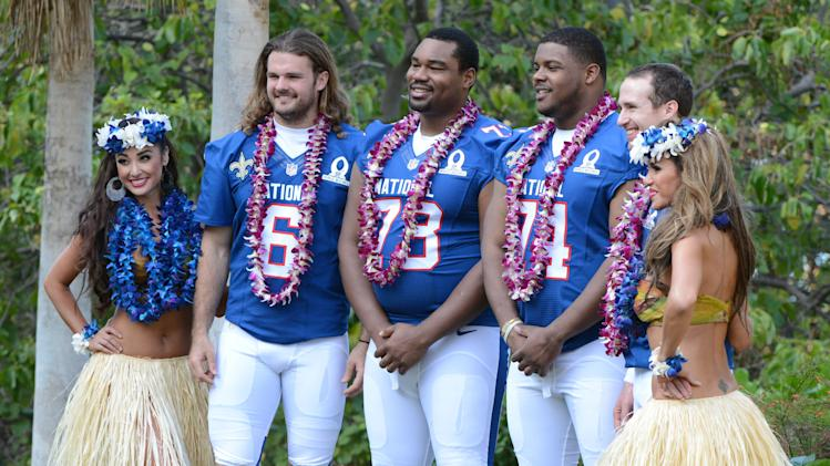 NFL: Pro Bowl-NFC Media Day