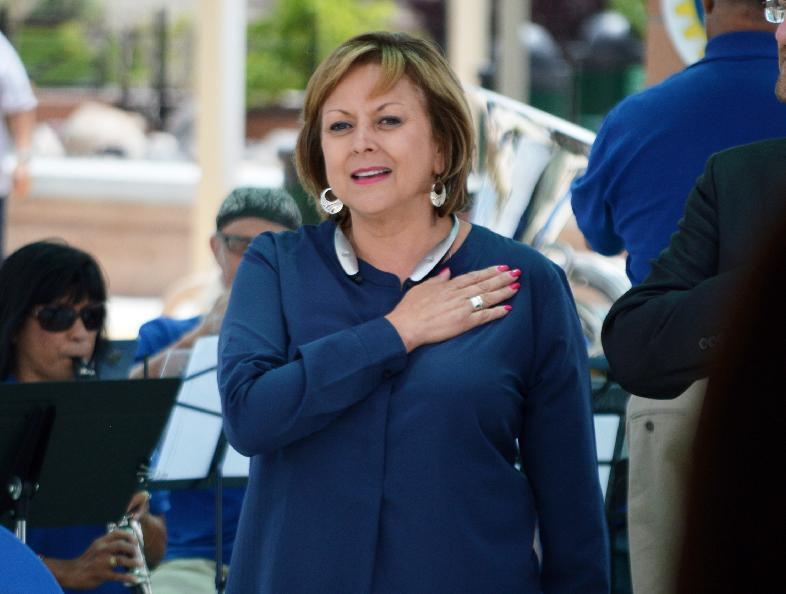 Donald Trump breaks with nation's only Latina governor
