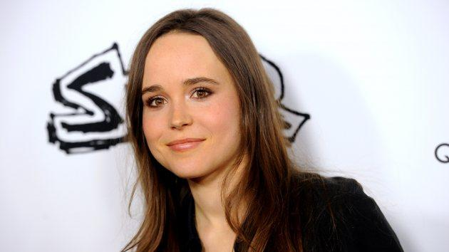 Ellen Page arrives at the premiere of IFC Midnight's 'Super' at the Egyptian Theatre on March 21, 2011 in Hollywood -- Getty Images