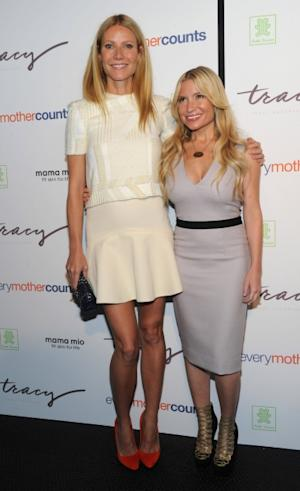 "Gwyneth Paltrow and trainer Tracy Anderson at the launch of Tracy Anderson's ""Pregnancy Project"" DVD -- Tracy Anderson Method"