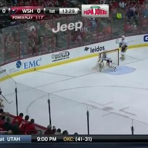 Anton Volchenkov Hit on Troy Brouwer (06:33/1st)