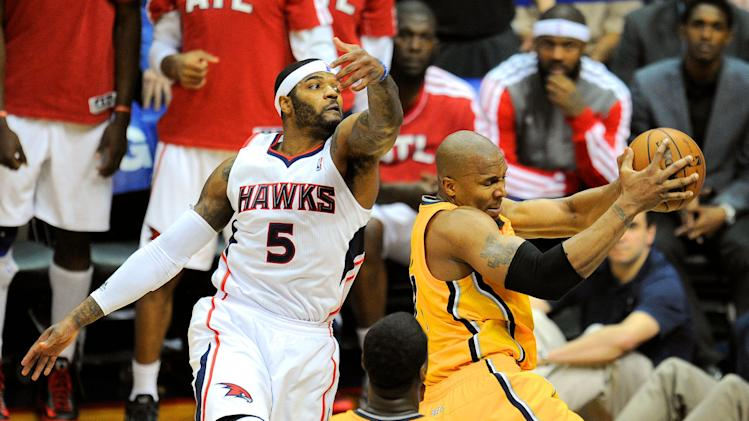 NBA: Playoffs-Indiana Pacers at Atlanta Hawks