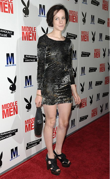 Middle Men LA Premiere 2010 Jena Malone