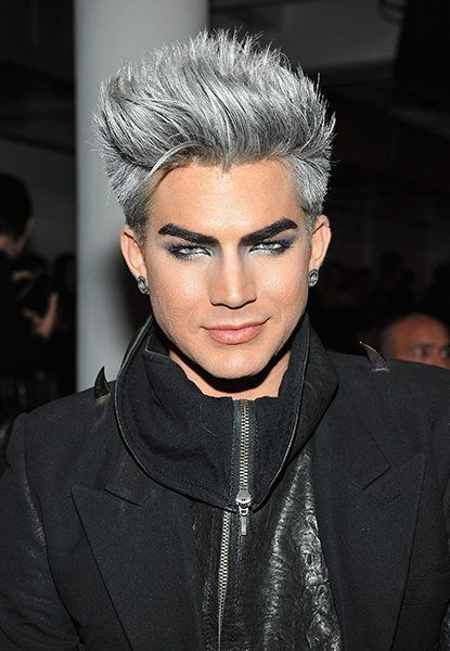 Adam Lambert at The Blonds Fall 2013 Runway show