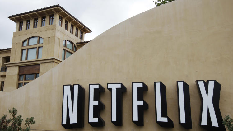 Netflix enjoys marquee day as stock soars 42 pct