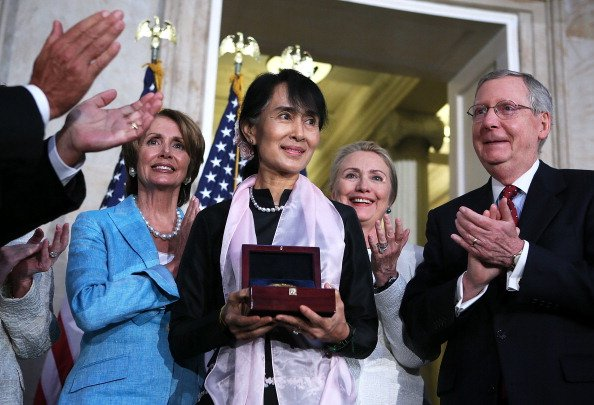 Aung San Suu Kyi Receives Congressional Gold Medal At Ceremony On Capitol Hill