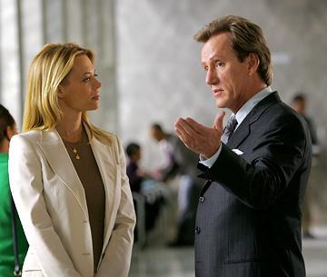 "Jeri Ryan and James Woods CBS' ""Shark"" Shark"