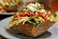 vegan and vegetarian labour day weekend recipes mexican taco salad healthy delicious