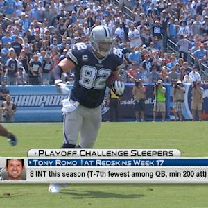 'NFL Fantasy Live': Playoff Challenge sleepers