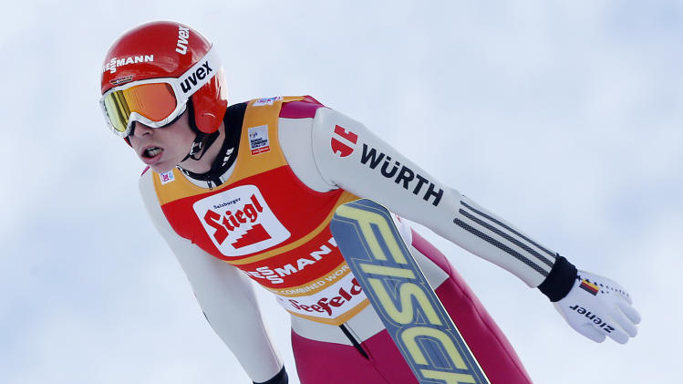 Germany's Frenzel wins WCup Nordic Combined Triple