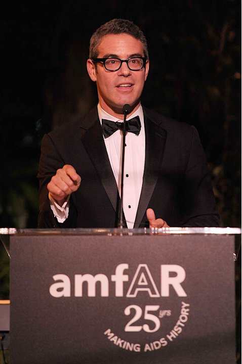 Andy Cohen amfAR Inspiration Gala