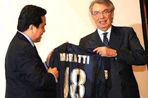 Moratti: Thohir has the right passion for Inter