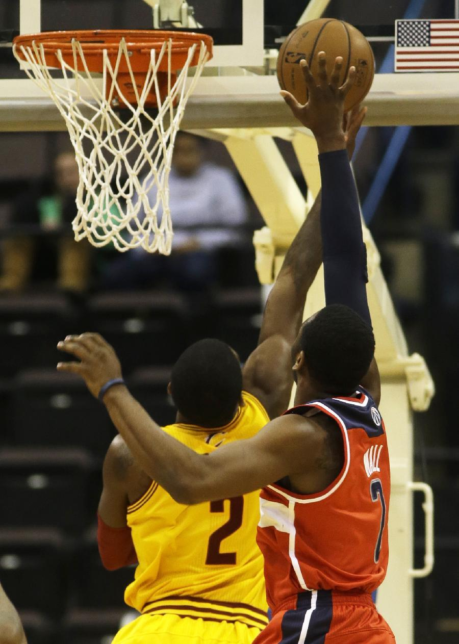 Wizards beat Cavaliers in preseason