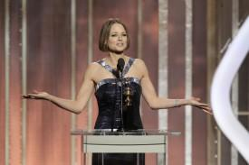 Jodie Foster Comes Out (Sort Of) During Golden Globes