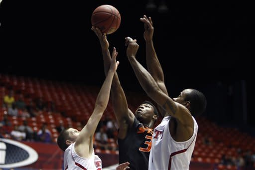 Oklahoma State routs No. 6 NC State 76-56