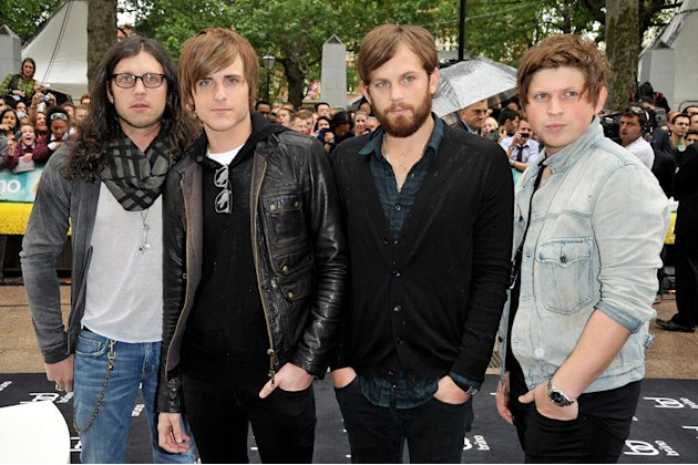 Bruno UK Premiere 2009 Kings of Leon