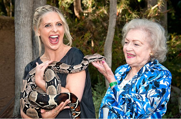 Sarah Michelle Gellar, Betty White