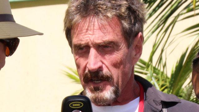 McAfee Tells ABC News He Is Innocent