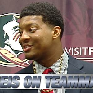 FSU QB Jameis Winston's Special Story on TD Pass to Christian Green