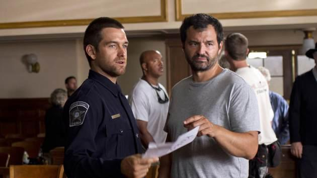 Antony Starr with 'Banshee' Showrunner and Executive Producer Greg Yaitanes -- Fred Norris/Cinemax