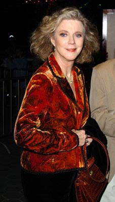 Blythe Danner at the Los Angeles premiere of Universal Pictures' Meet the Fockers
