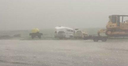 Severe Storms Drop Hail on Parts of Oklahoma