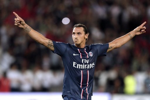Having lost  Ibrahimovic, pictured,   Thiago Silva, and Antonio Cassano, Milan are looking less of a threat