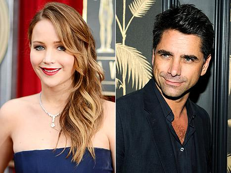 Jennifer Lawrence Stalked John Stamos at a Party, Stared at His Butt