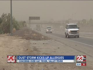 Windy weather stirs up health concerns