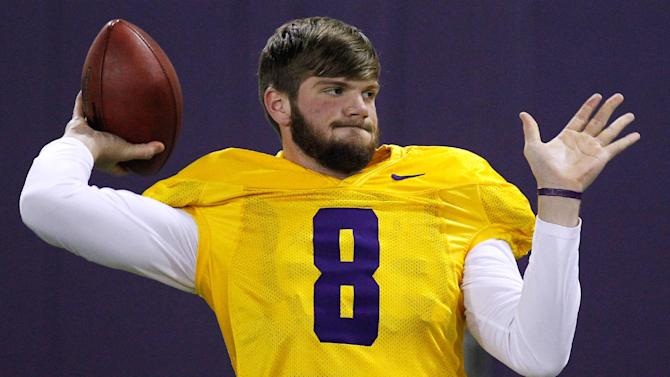 Mettenberger works out hard at LSU pro day
