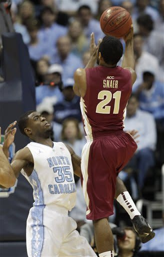 Florida St. wins 1st ACC crown 85-82 over UNC