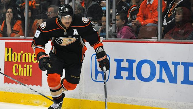 NHL: Phoenix Coyotes at Anaheim Ducks