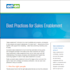Sales Enablement: Optimize Your Organization, Not Just Your Website