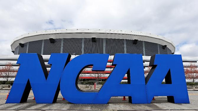 """The NCAA, which governs the popular and lucrative world of US university sports, has long held that """"student athletes"""" are not university employees but students whose participation in sports is part of their education"""