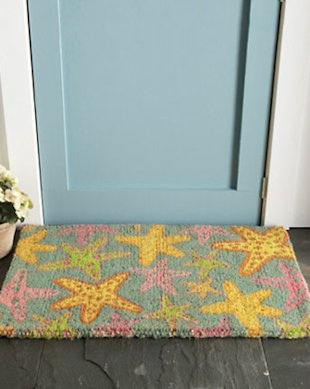 Seashell Doormat
