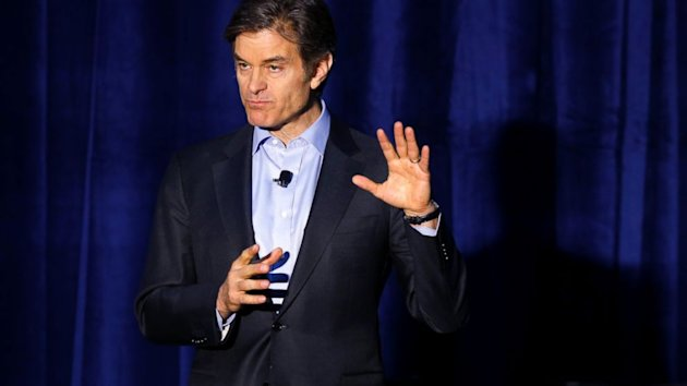 Dr. Oz Takes Flack For Loving Football (ABC News)