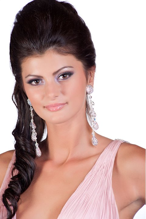 Miss Slovak Republic 2011, Dagmar Kolesarova, competes for the title of Miss Universe 2011 during the &quot;60th Annual Miss Universe&quot; competition from So Paulo, Brazil. 