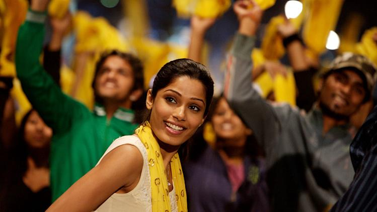 Slumdog Millionaire Production Stills 2008 Fox Searchlight Freida Pinto