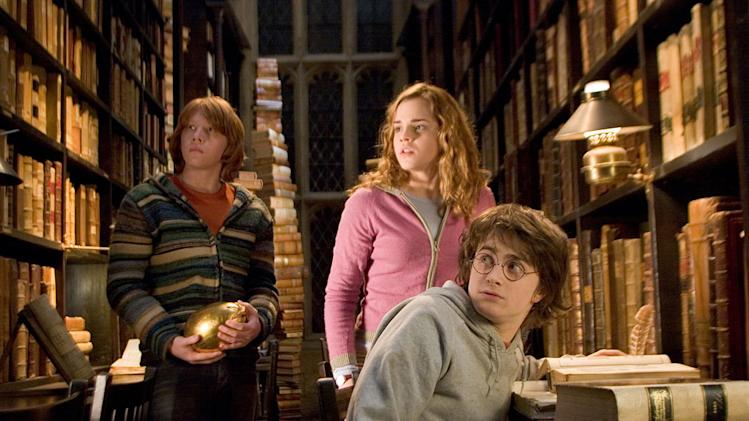 Harry Potter and the Goblet of Fire 2005 Warner Bros. Pictures Rupert Grint Emma Watson Daniel Radcliffe