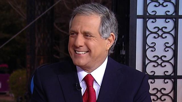 Les Moonves talks business of Super Bowl