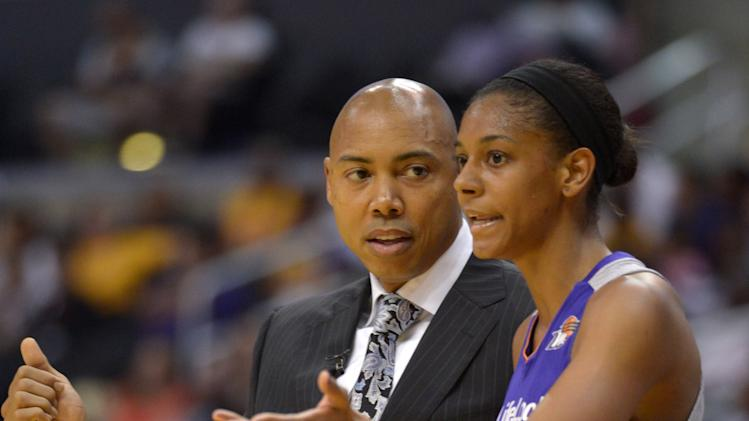 WNBA: Phoenix Mercury at Los Angeles Sparks