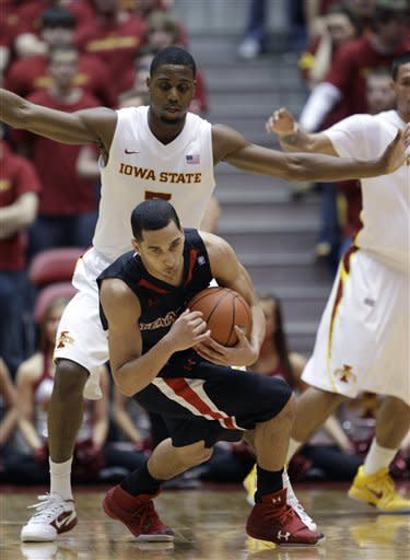 Iowa State pulls away to beat Texas Tech 72-54