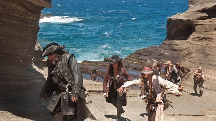 Pirates of the Caribbean On Stranger Tides 2011 Johnny Depp Ian McShane Penelope Cruz