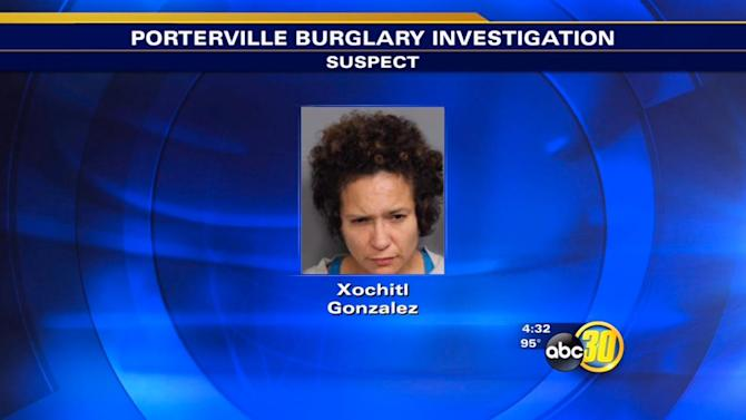 Woman and 13-year-old boy arrested in Porterville burglary