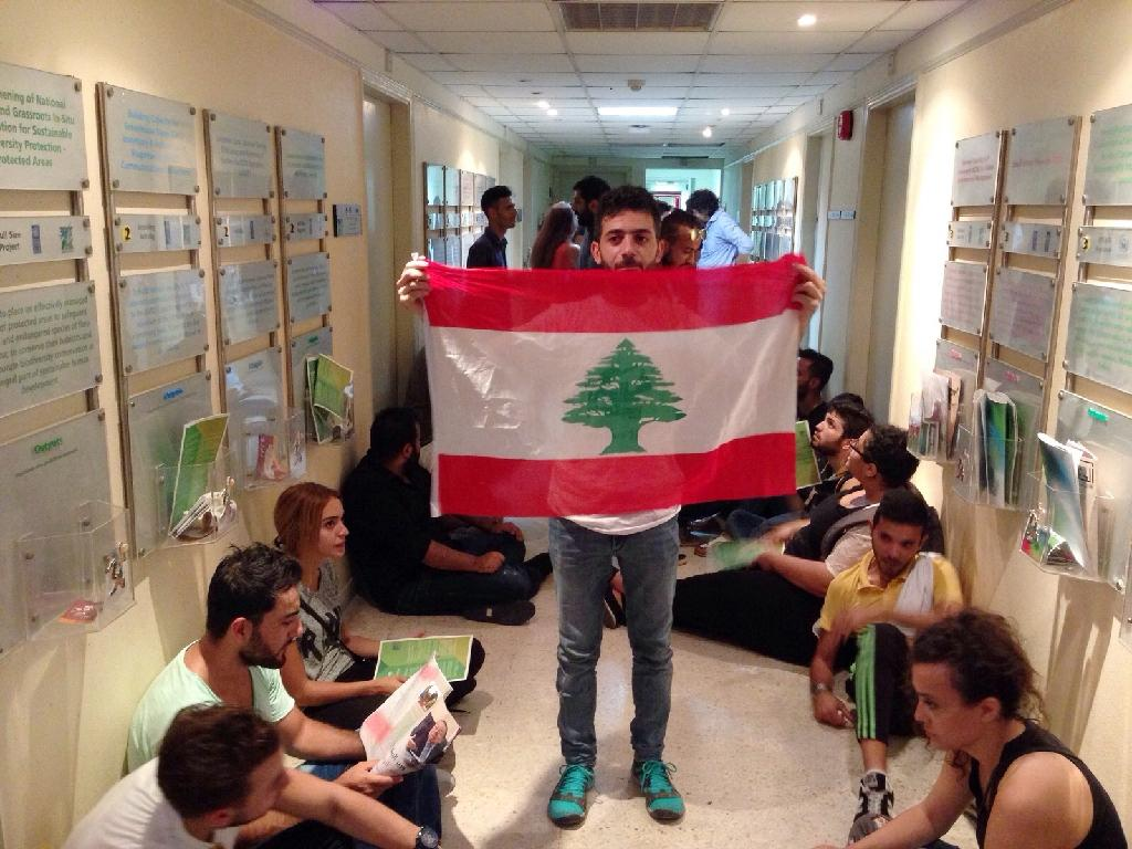 Protesters occupy Lebanon environment ministry over trash crisis