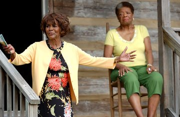 Cicely Tyson and Maya Angelou in Lionsgate Films' Tyler Perry's Madea's Family Reunion