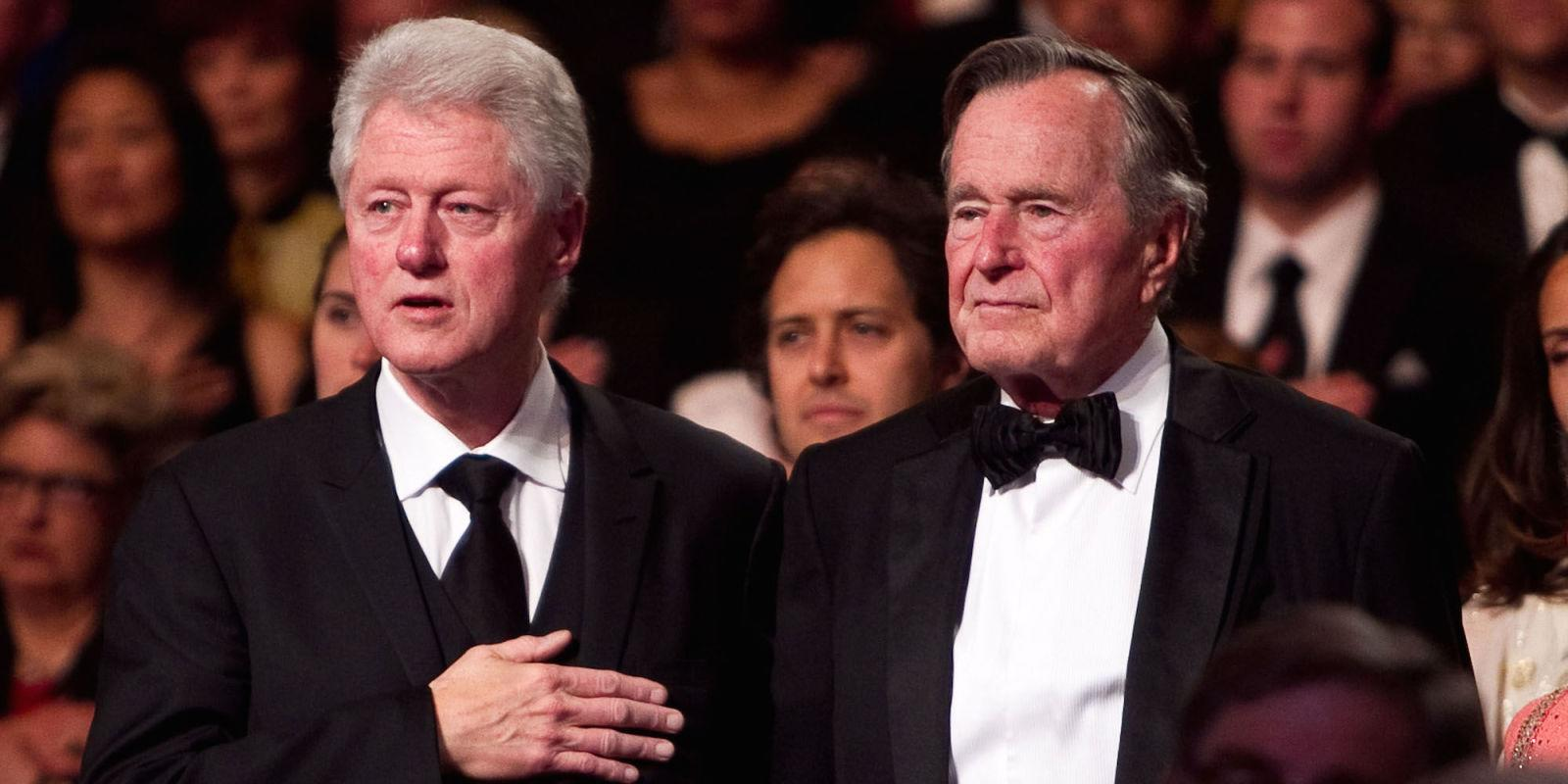 Bush 41's Letter to Bill Clinton Shows Everything That's Wrong with This Election