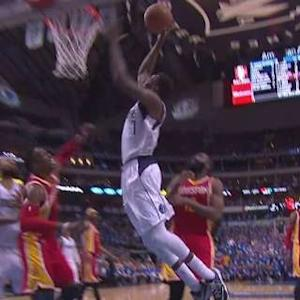 Aminu Throws It Down