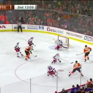 Cam Talbot Save on Pierre-Edouard Bellemare (06:52/2nd)